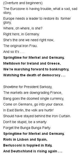 Stupid rant, song or poem by Richard Littlejohn from the Daily Mail