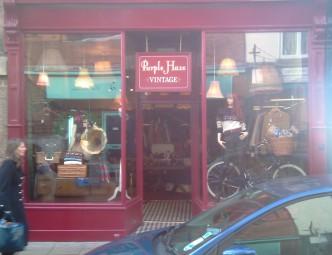 Purple Haze vintage clothes shop in York - Fossgate