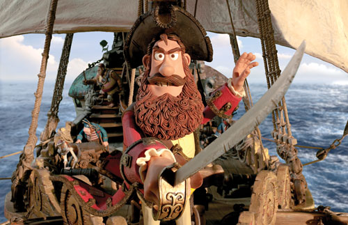 Aardman animation version of Pirates!  Promotional image