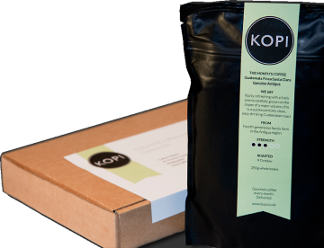 Kopi Coffee Delivery review