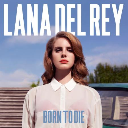 Lana Del Rey - Born to Die (2012) Album cover art image