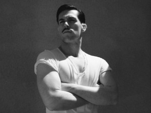 Sam Sparro in black and white
