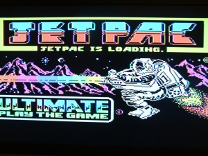 JetPac game loading screen