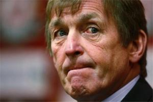 Kenny Dalglish looking fed up