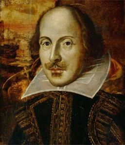 A picture of William Shakespeare, who is the focus of this challenge